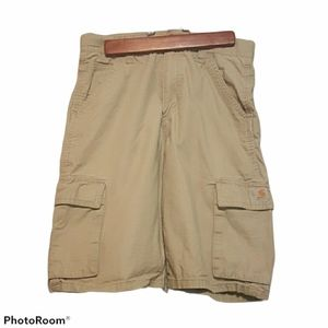 Carhartt sand colored shorts